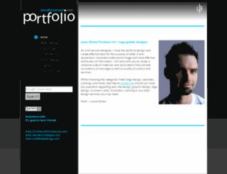 lancebrownart.com screenshot