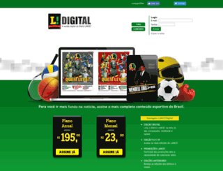 lancedigital.com.br screenshot