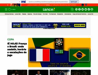 lancenet.com.br screenshot