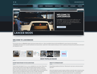 lancermods.com screenshot