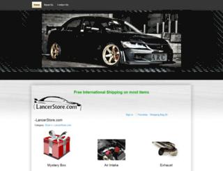 lancerstore.com screenshot
