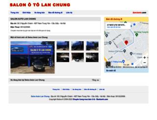 lanchungauto.bonbanh.com screenshot