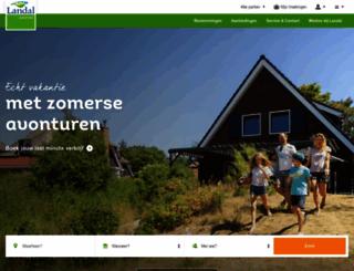 landalgreenparks.nl screenshot
