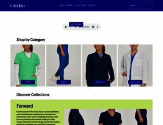 landau.com screenshot