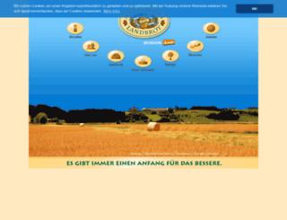 landbrot.de screenshot