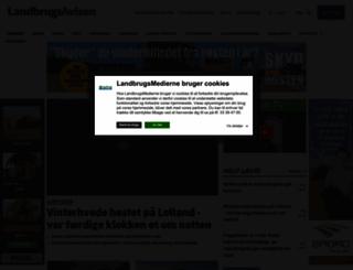 landbrugsavisen.dk screenshot