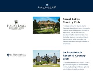 landcorp.co.uk screenshot