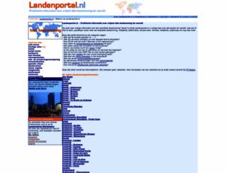 landenportal.nl screenshot