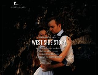 landesbuehnen-sachsen.de screenshot