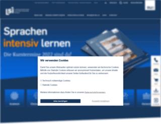 landesspracheninstitut-bochum.de screenshot
