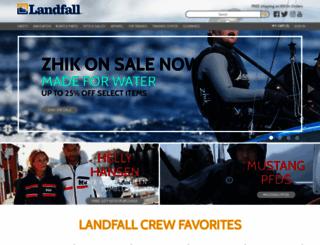 landfallnavigation.com screenshot