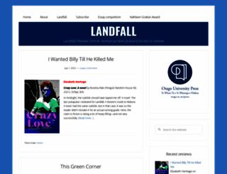 landfallreview.com screenshot