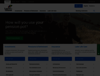 landg.com screenshot