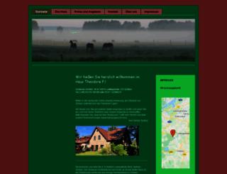 landhotel-theodore-f.de screenshot