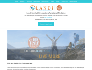 landichiropractic.com screenshot