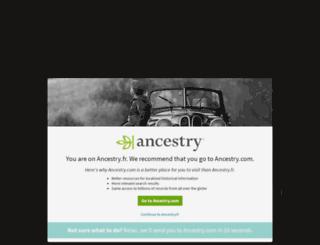 landing.ancestry.fr screenshot