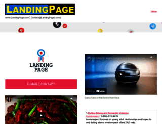 landingpage.com screenshot