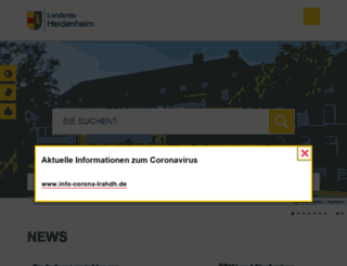 landkreis-heidenheim.com screenshot