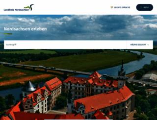 landkreis-nordsachsen.de screenshot