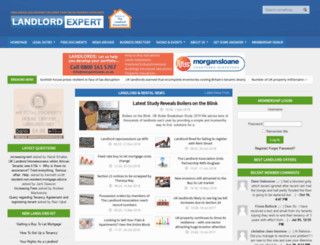 landlordexpert.co.uk screenshot