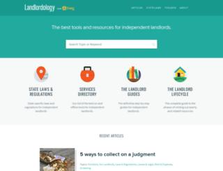 landlordology.com screenshot