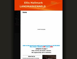 landmarkennels.com screenshot