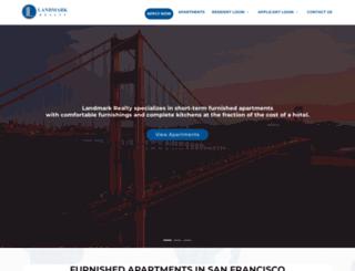 landmarksf.com screenshot