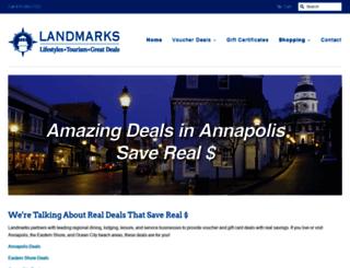 landmarksgreatdeals.com screenshot