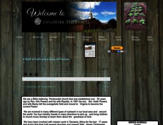 landmarktabernacle.com screenshot