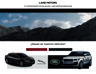 landmotors.es screenshot