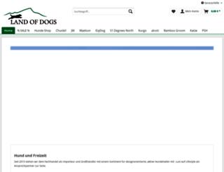 landofdogs.de screenshot
