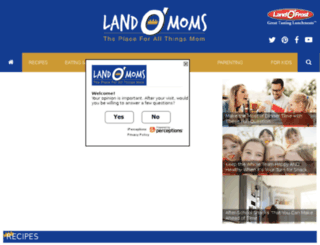 landomoms.com screenshot