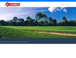 landpro.com.au screenshot