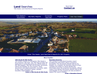 landregistryagency.co.uk screenshot