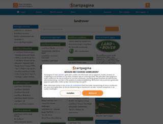 landrover.startpagina.nl screenshot