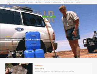 landroverexpedition.com screenshot
