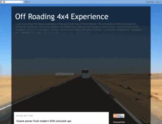 landroveroffroading.blogspot.com screenshot