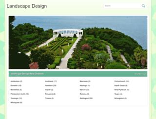 landscape-design.nz screenshot