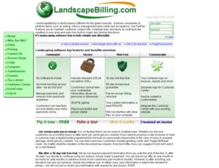 landscapebilling.com screenshot