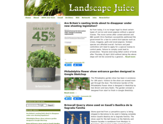 landscapejuice.com screenshot
