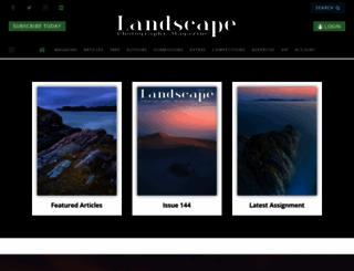 landscapephotographymagazine.com screenshot