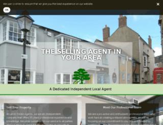 landsestateagents.co.uk screenshot