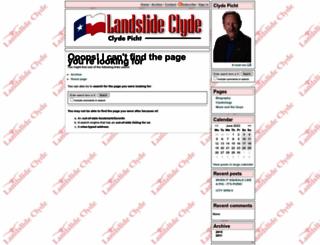 landslideclyde.com screenshot