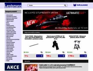 landsmann.cz screenshot