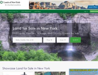 landsofnewyork.com screenshot