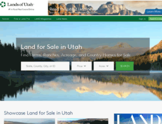 landsofutah.com screenshot