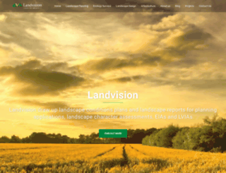 landvision.co.uk screenshot
