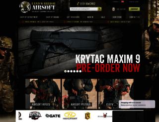 landwarriorairsoft.com screenshot