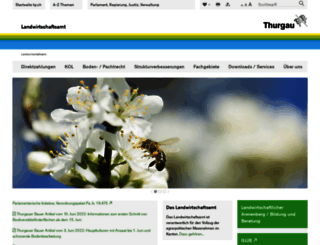 landwirtschaftsamt.tg.ch screenshot