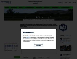 langbaurgh.play-cricket.com screenshot